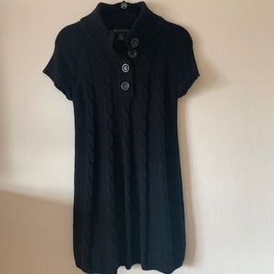 Sweater dress - Black size small